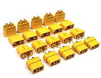 5 Paar 10 Stück Original Amass Goldstecker XT60U XT60 Male Female Lipo Stecker