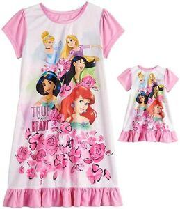 Snow White Disney Princess Girl Nighty Dress Sleepwear Size S-L age 1-4