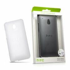 New HTC HC C852 Hard Shell Case for One Mini - Clear - With Screen Protector