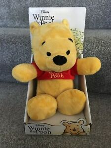"""NEW & Boxed 10"""" Disney Winnie The Pooh Plush Soft Toy Collection BABY PRESENT"""