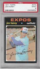1971 Topps Baseball Jim Fairey #474 PSA 9