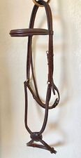 Devoucoux Figure of 8 Bridle  Raised and Padded in Brown Size L