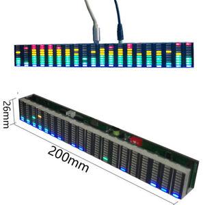 DIY 12V USB VU Meter Music-Spectrum-Analyzer PC Amplifier Audio Level Indicator