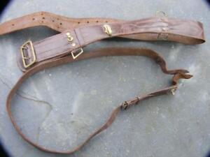 WWII Sam Brown with shoulder strap.  REME Officers  original .