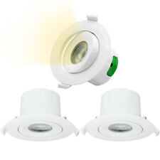 Directional 9W LED Recessed Downlights Recessed Spot Ceiling Lights Cut Lighting