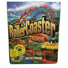 Rollercoaster Tycoon - MicroProse - PC Big Box Game - New & Sealed