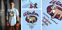 Hawkins & Joseph WINSTON Tartan T-Shirt 80s Casuals English Bulldog Subculture