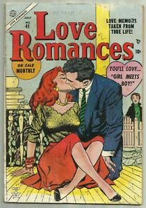 Love Romances #41 Atlas 1954 Vince Colletta Headlight Cover Rare!