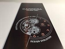 Placa Plaque TAG HEUER - CARRERA Calibre 1887 - 32,5 x 7,5 cm - For Collectors