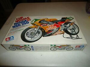 1/12 TAMIYA CUP NOODLE HONDA NSR250 MOTORCYCLE UNBUILT MODEL KIT SEALED INSIDE