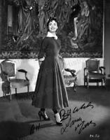 8x10 Print Lana Morris British Film Stage & Television Actress 1950's #LMAA