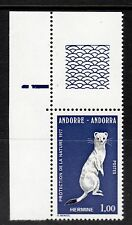 Andorre, French - 1977 Protection of nature / Animal Mi. 281 MNH