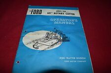 Ford Tractor 908 Rotary Cutter Operator's Manual CHPA