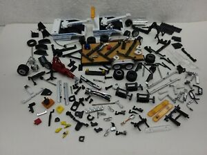 Parts lot custom builds tires 1/64 hitch Tow 4x4 Greenlight truck trailer wheels