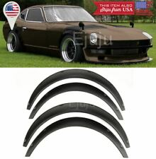 "1.75"" Front 2.75"" Rear ABS Black Flexible 4 Pieces Wide Fender Flares For Chevy"