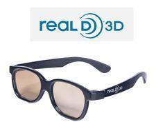 Gafas real D 3D. Cine TV