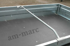 Anti-puddling support bar trailers trailer camping