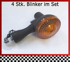 4 Stk. Blinker im Set für Yamaha XT 500 - 1U6 - Bj. 76-89