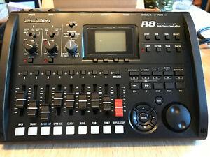 Zoom R8 8-Track Digitaler Rekorder - Schwarz