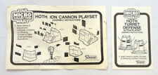Vintage Star Wars 1982 ESB Kenner Micro Hoth Turret & Ion Cannon Instructions
