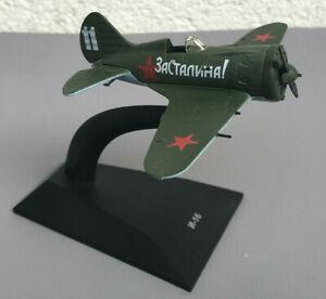 I-16 Polikarpov Deagostini Russian Air Force Diecast Plane Military Aircraft1/87