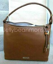 MICHAEL KORS Lexington Leather Large Shoulder Bag Tote Purse Luggage Brown New