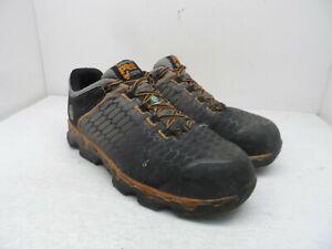 Timberland Pro Men's Powertrain Sport CSA Alloy Toe Work Shoes A1GT9 Black 9.5W