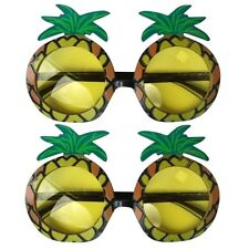 2x Pineapple Hawaiian Novelty Beach Sun Glasses Hen Stag Party Fancy Dress QR01