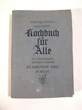 "Altes Kochbuch ""Kochbuch für Alle"" Dorothee Goebler & Ruth Goetz incl. Diätkost"