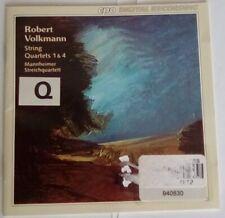 Rober Volkmann String Quartets 1 & 4 Mannheimer Streichquartett CD CPO