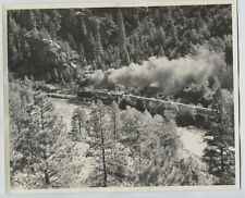 1966 D&RG Denver & Rio Grande Narrow Gauge Animas River Silverton Durango CO