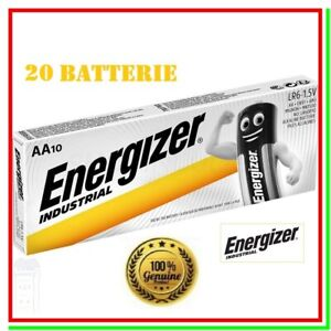 pile energizer industrial aa batterie stilo alcaline pila batteria x20 scad 2029