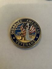 Disabled American Veteran Challenge Coin