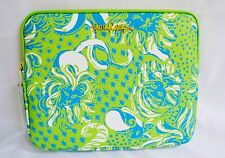 Lilly Pulitzer Tech Clutch iPad Tablet Purse Handbag Limeade Roar Of the Jungle