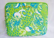 Lilly Pulitzer Tech Clutch iPad Tablet Purse Handbag Limeade Roar Of the Jungle