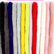 1M Fluffy Fur Trimming Ribbon Trim DIY Scarf Collar Materials Sewing Crafts Soft