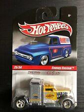 Hot Wheels Mint on Card Slick Rides Series Convoy Custom w/Real Riders
