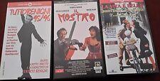 3 VHS - Comici - Benigni - La vita è bella/Il mostro/Tuttobenigni 95-96