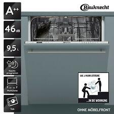 Geschirrspüler Vollintegrierbar A++ BAUKNECHT BIC 3C26 60cm 14 Maßgedecke_2ML