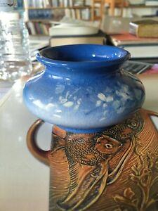 Roseville Azurean Small Bowl Rare Rare