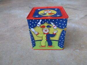 Schylling Clown Jack in The Box  Vintage?