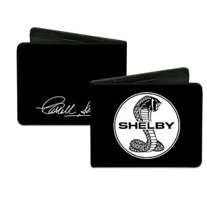 Wallet Shelby Cobra Black White Circle Ford Mustang CSP