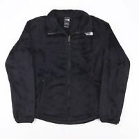 Vintage THE NORTH FACE Furry Black 00s Polyester Casual Outdoor Jacket Womens M