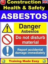 NEW 2017 ASBESTOS Awareness Regs Construction Health & Safety Training Made Easy