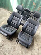 MERCEDES BENZ W212 E CLASS SALOON 09-13 BLACK LEATHER INTERIOR SEATS