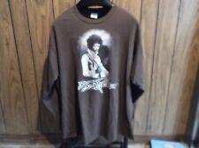 Jimmi Hendrix shirt long sleeve 2XL brown 2005 Cygnus