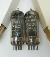 VALVES TUBES EZ80 PHILIPS TESTED