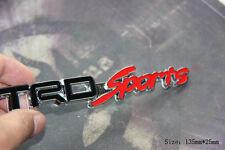 D980 TRD Sport Emblem Badge auto aufkleber 3D Schriftzug Plakette car Sticker