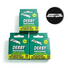 Derby Professional Single Edge Razor Blades 100 Count x 3 Pack