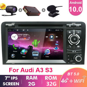 For AUDI A3 S3 RS3 8P 8PA Android 10 SAT NAV Car GPS Navi DVD Stereo DAB+8 CORE